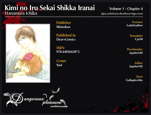 Kimi no Iru Sekai Shikairanai 4 Page 2