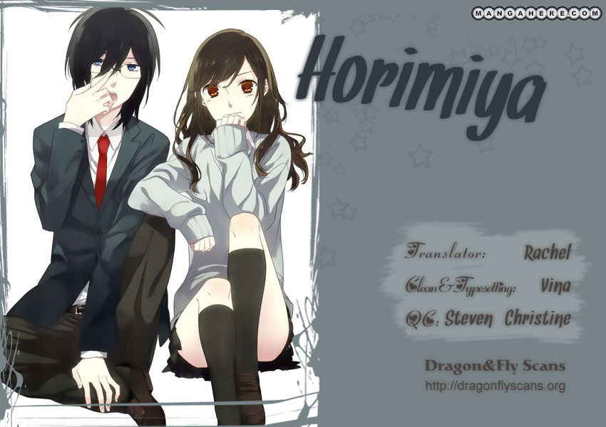 Horimiya 14 Page 1