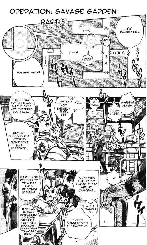 JoJo's Bizarre Adventure Part 6: Stone Ocean 44 Page 1