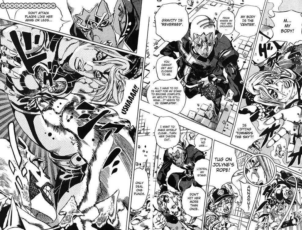 JoJo's Bizarre Adventure Part 6: Stone Ocean 144 Page 4