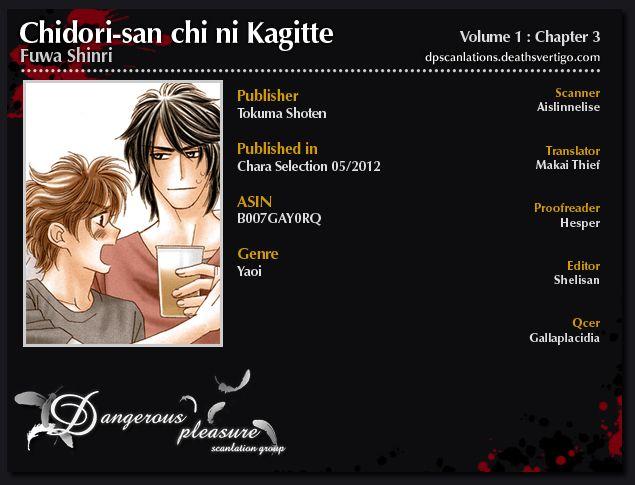 Chidori-san Ke ni Kagitte 3 Page 1
