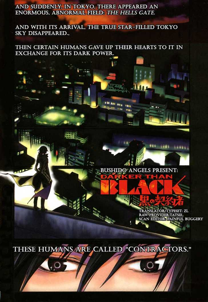 Darker than Black 1 Page 1