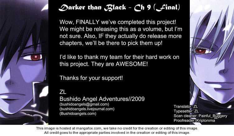 Darker than Black 10 Page 1