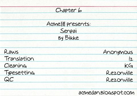 Senpai 6 Page 1
