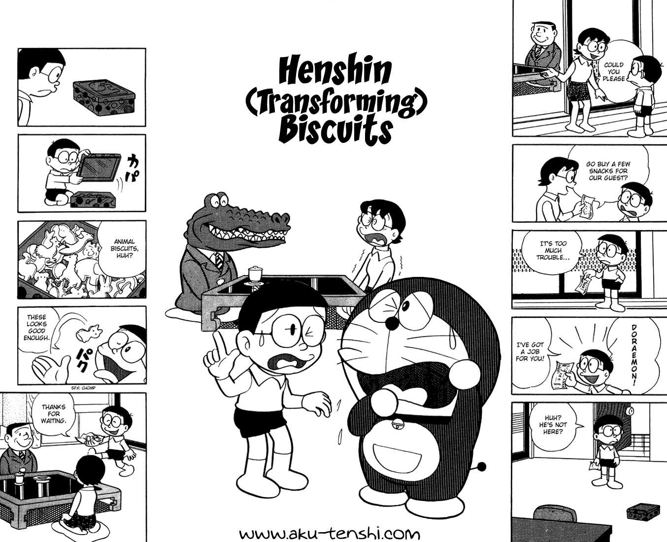 Doraemon 3 Page 1