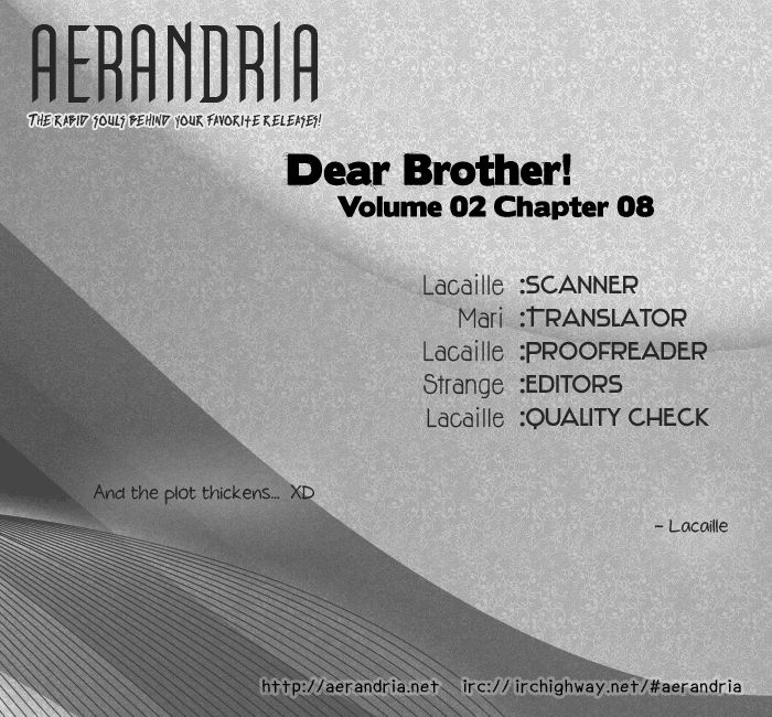 Dear Brother! 8 Page 2