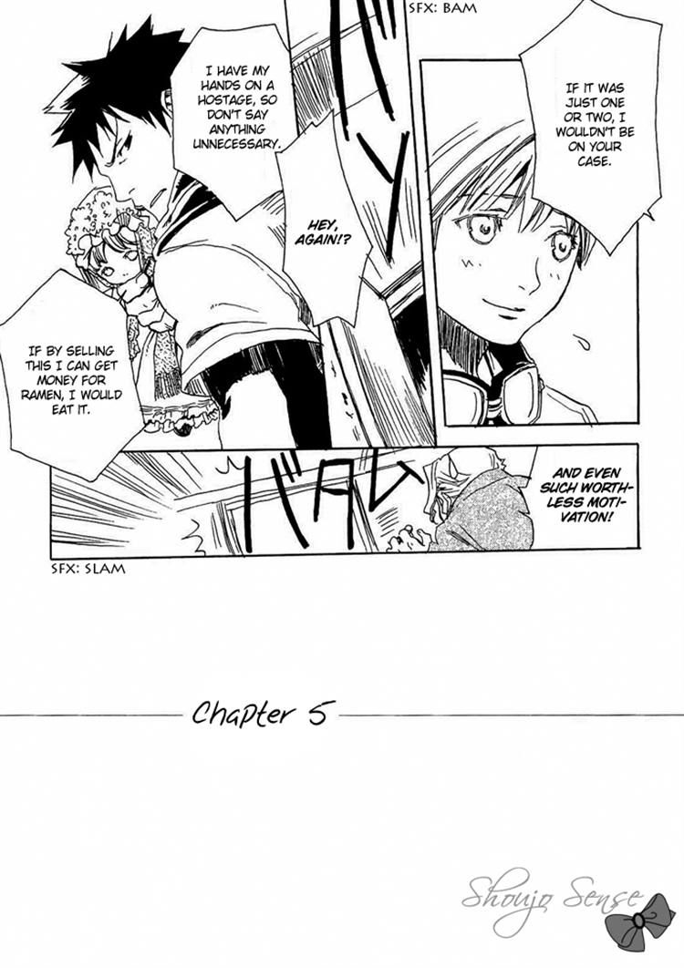Harizuki Kagerou Enshimonogatari 5 Page 2