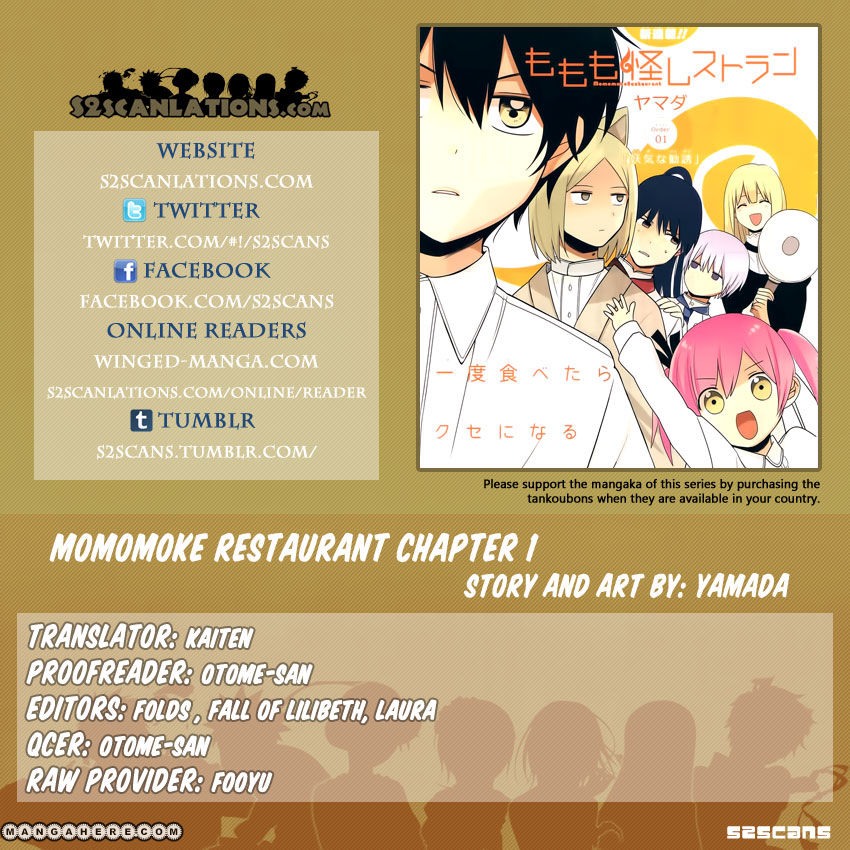 Momomoke Restaurant 1 Page 1