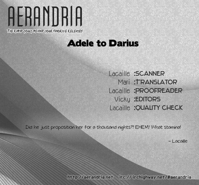 Adele to Darius 1 Page 1