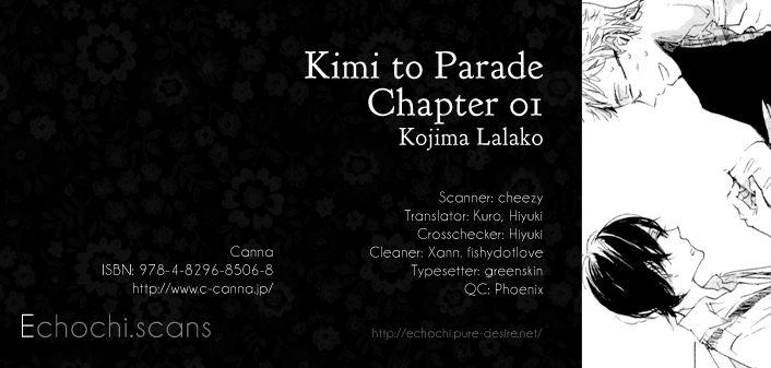 Kimi to Parade 1 Page 1