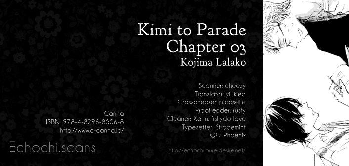 Kimi to Parade 3 Page 1