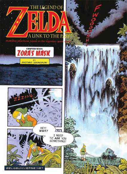 The Legend Of Zelda: A Link to the Past (ISHINOMORI Shotaro) 0.2 Page 1
