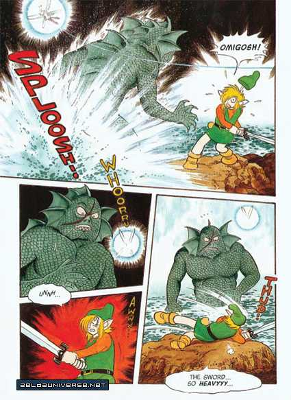 The Legend Of Zelda: A Link to the Past (ISHINOMORI Shotaro) 0.2 Page 2