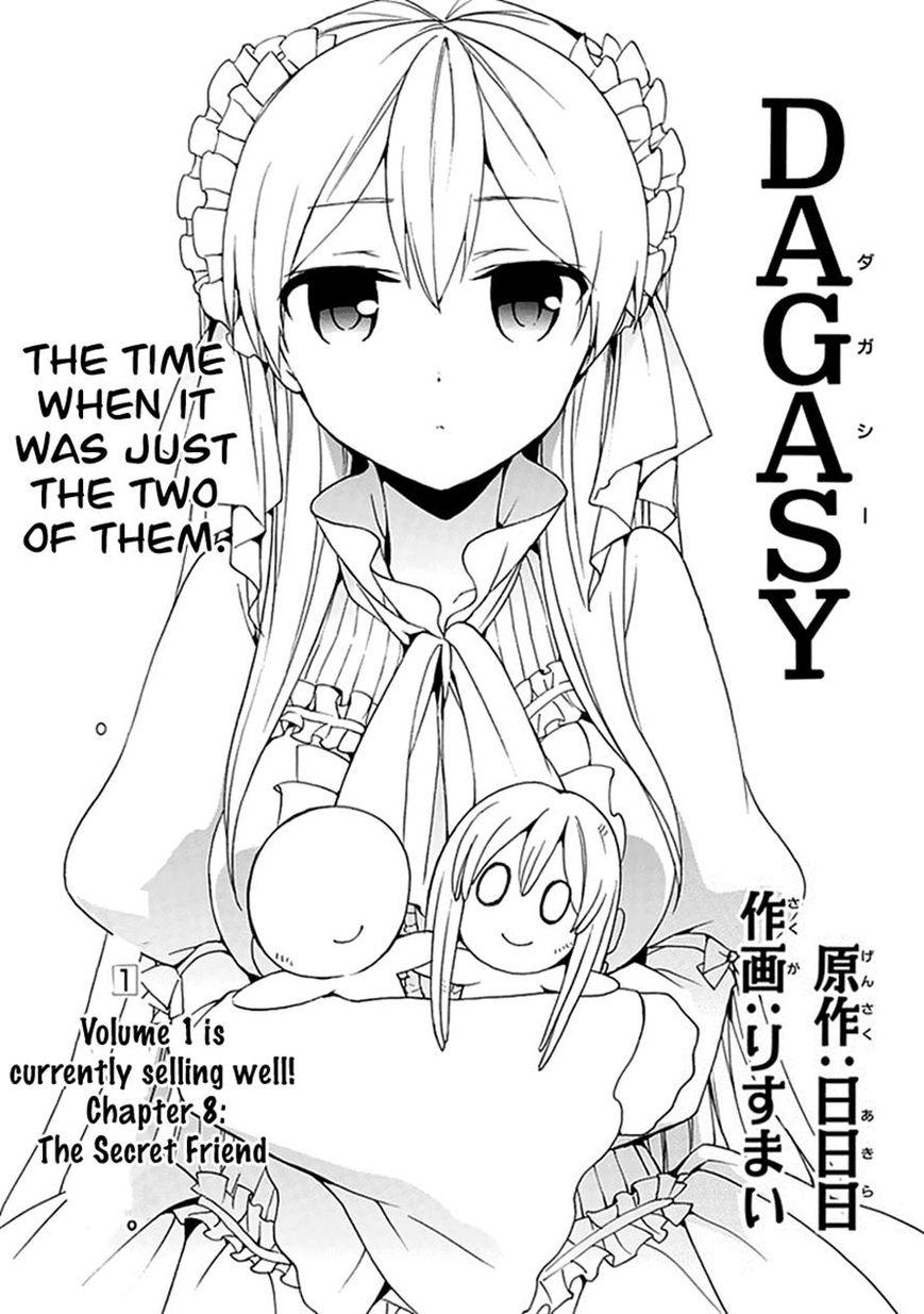 Dagasy - Houkago Chounouryoku Sensou 8 Page 1