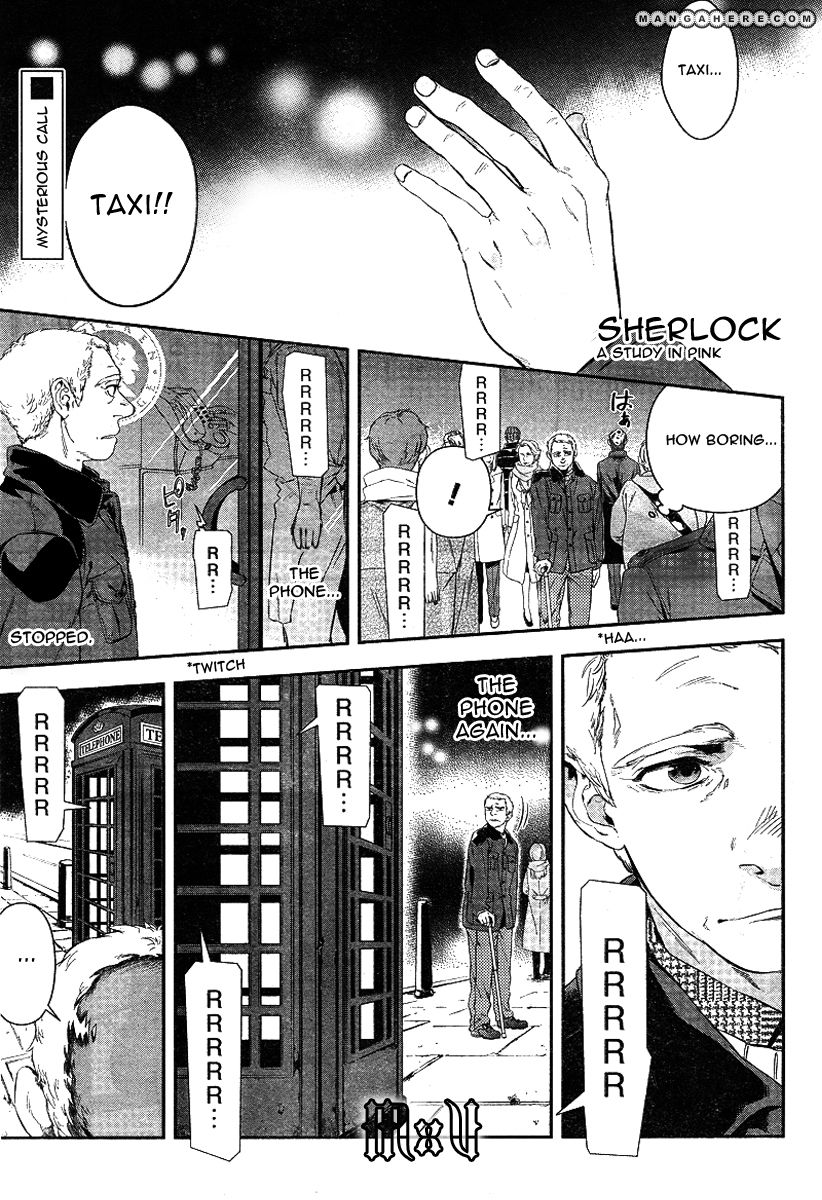 Sherlock - Pink Iro no Kenkyuu 3 Page 1