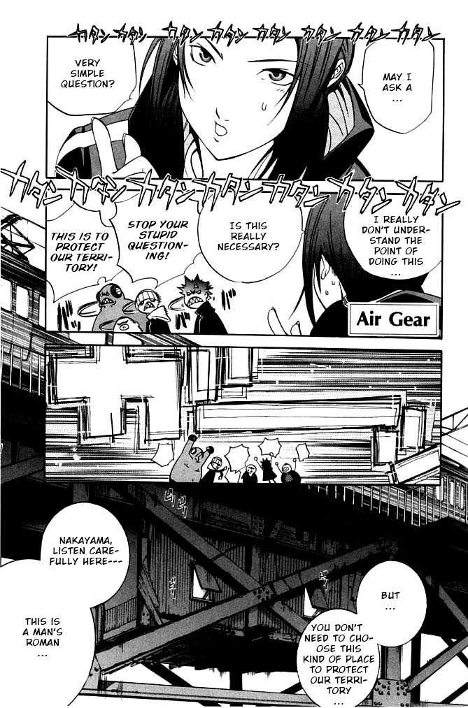 Air Gear 79 Page 1