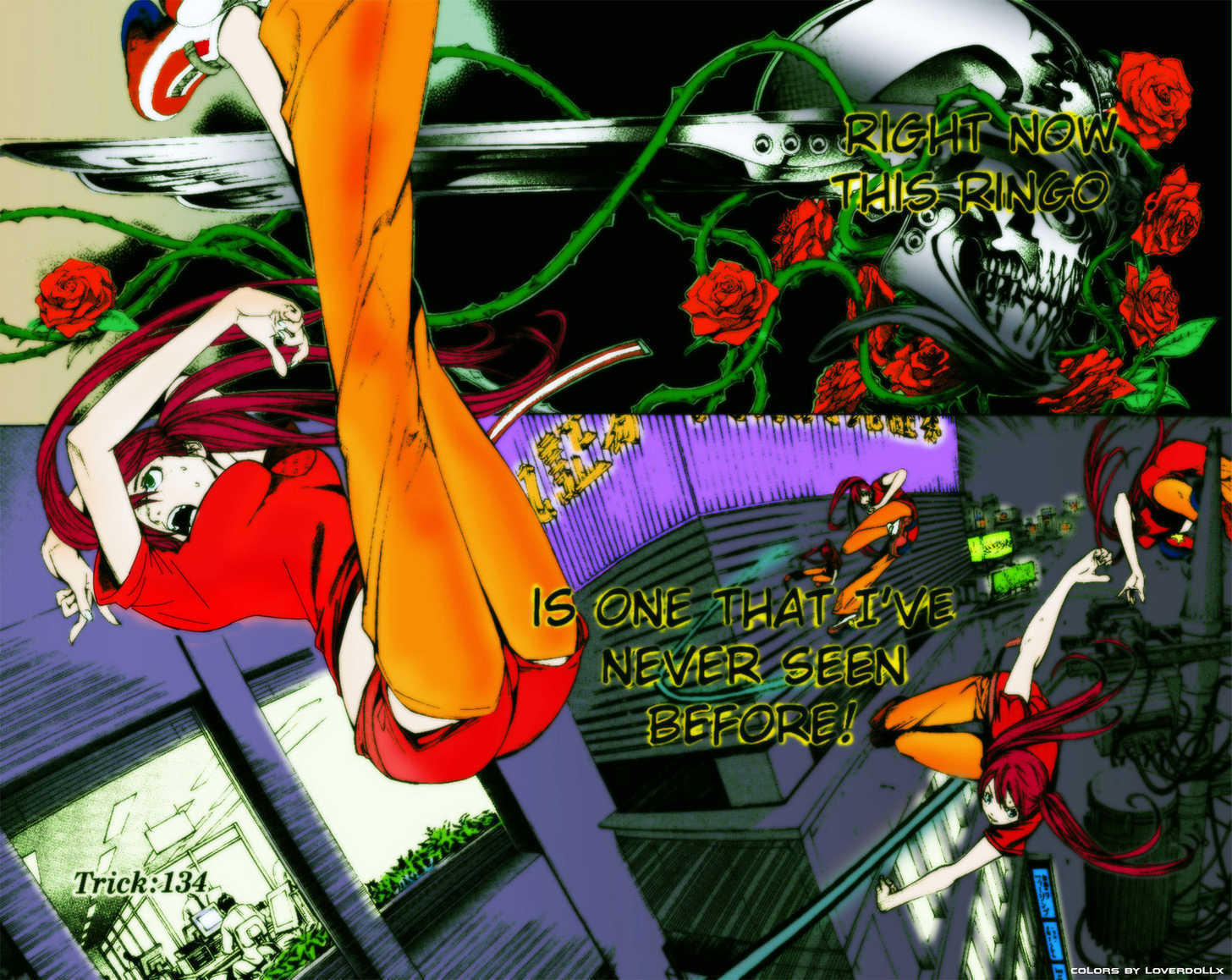 Air Gear 135 Page 1