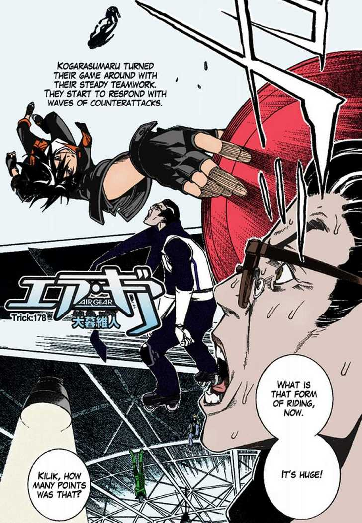 Air Gear 178 Page 1