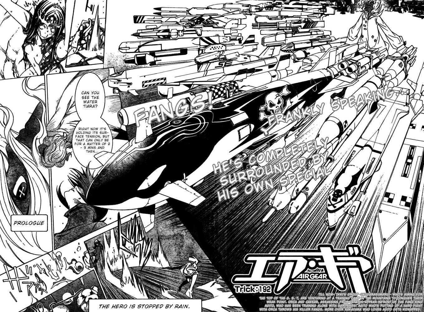 Air Gear 192 Page 2