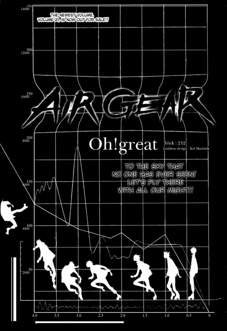 Air Gear 212 Page 1