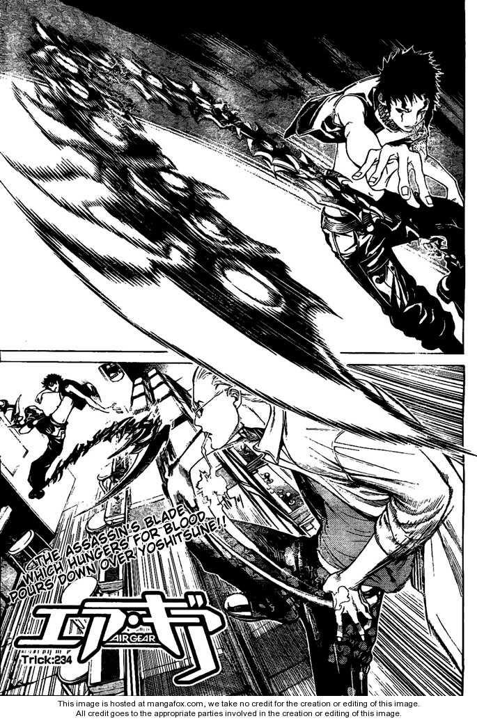 Air Gear 234 Page 1