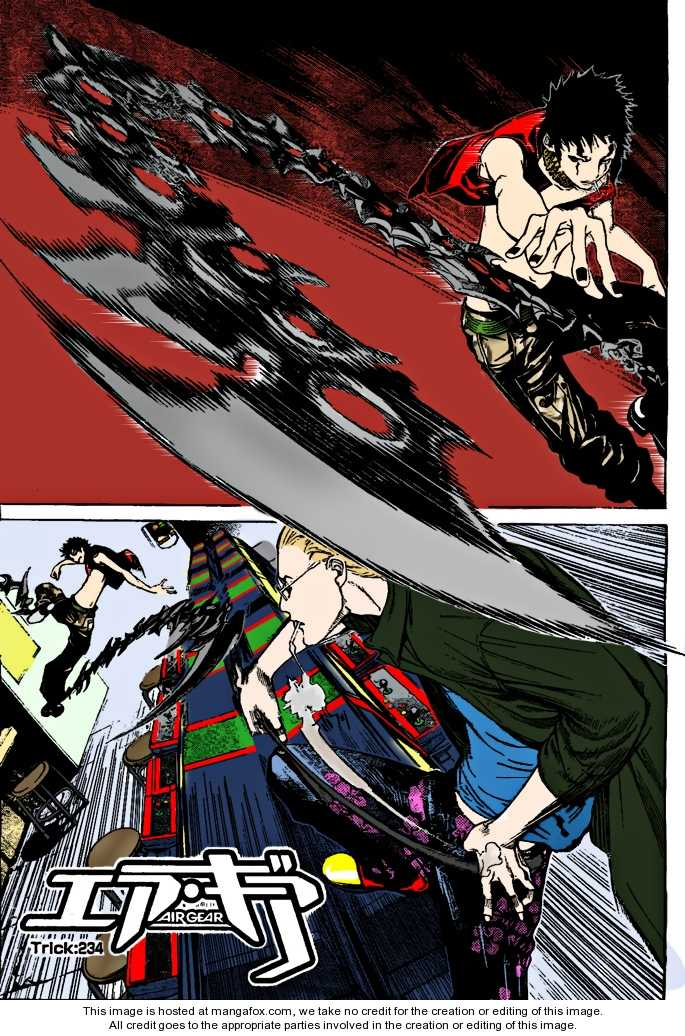Air Gear 234 Page 2
