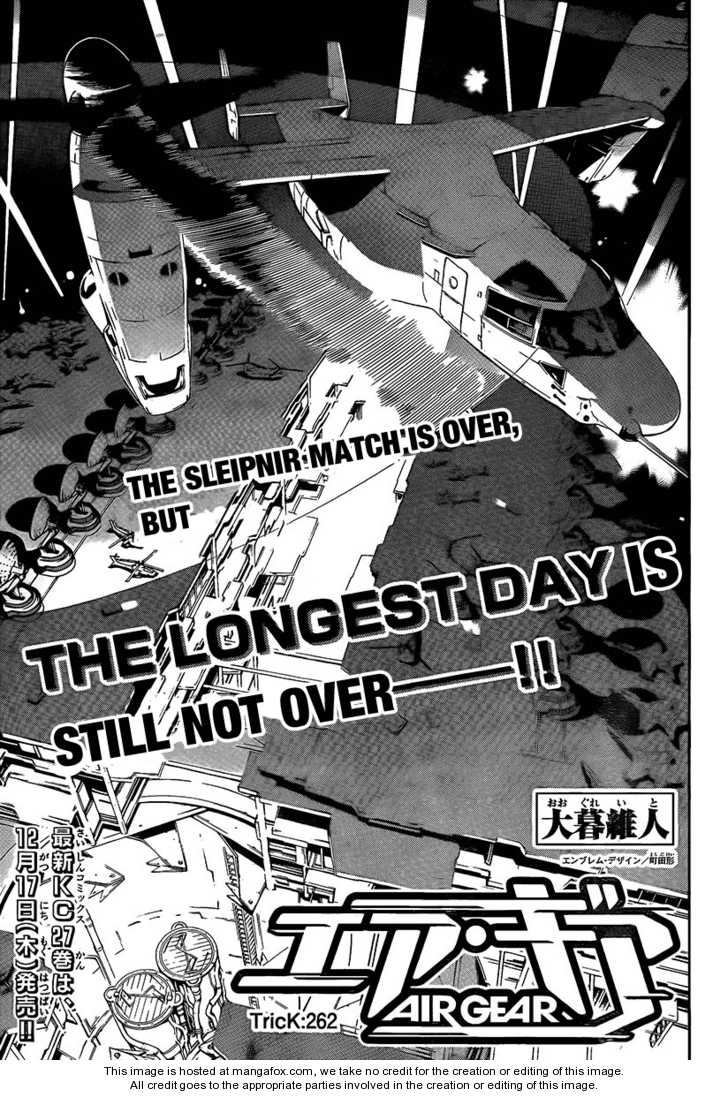 Air Gear 262 Page 2