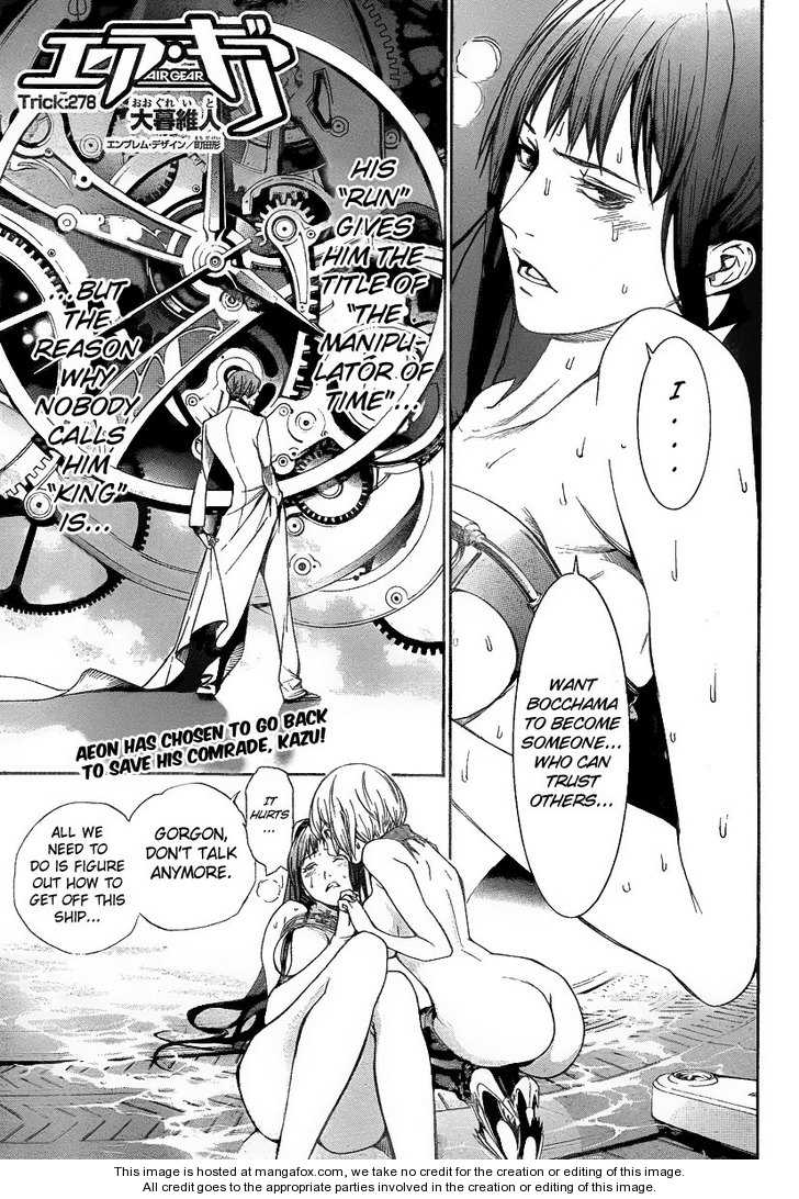 Air Gear 278 Page 1