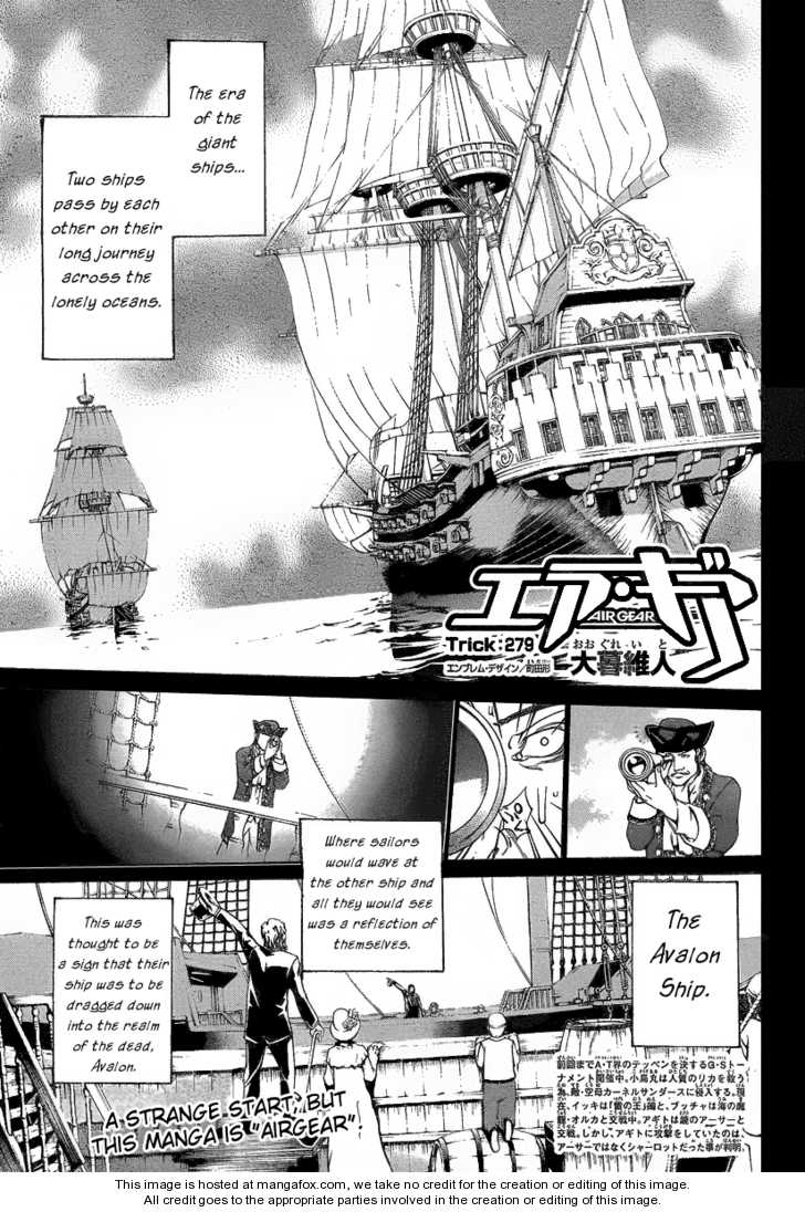 Air Gear 279 Page 1