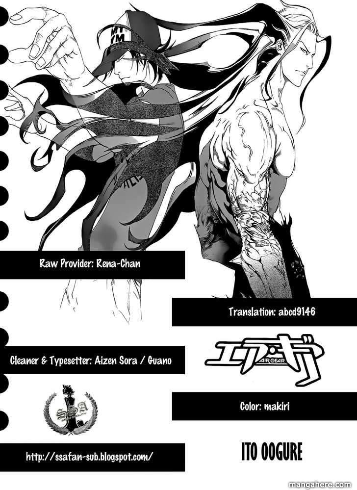 Air Gear 320 Page 1