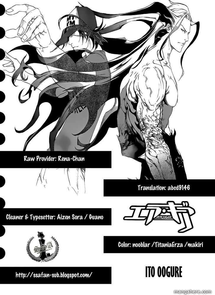 Air Gear 322 Page 1