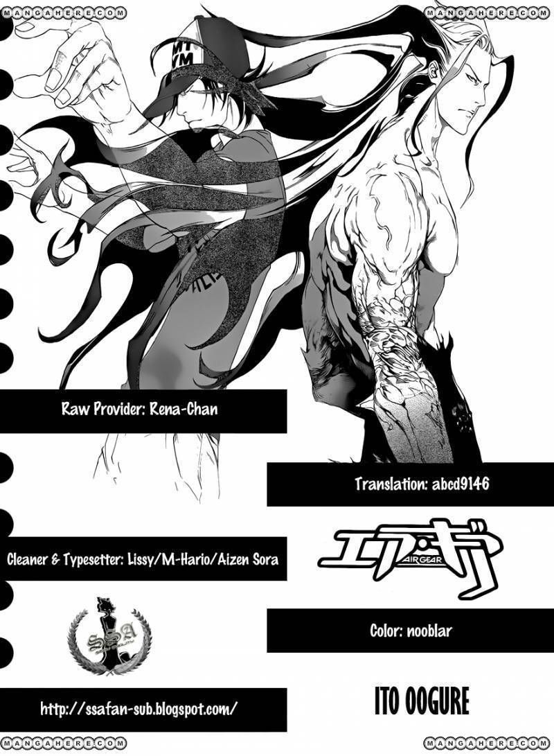 Air Gear 326 Page 1