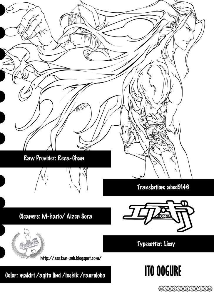 Air Gear 329 Page 1