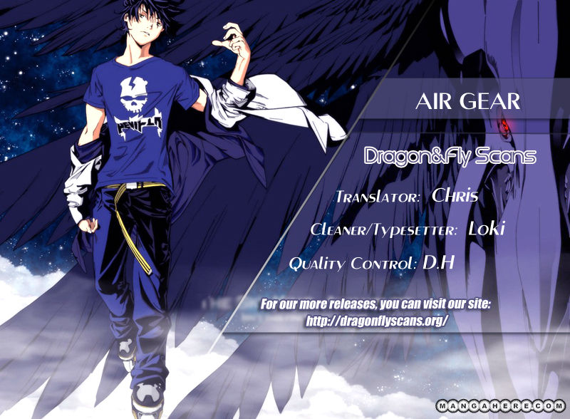 Air Gear 334 Page 1
