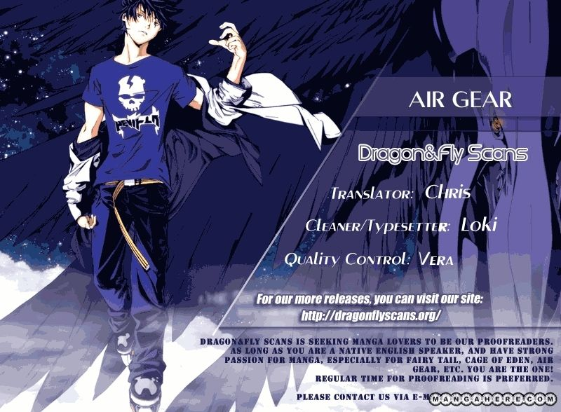 Air Gear 338 Page 1