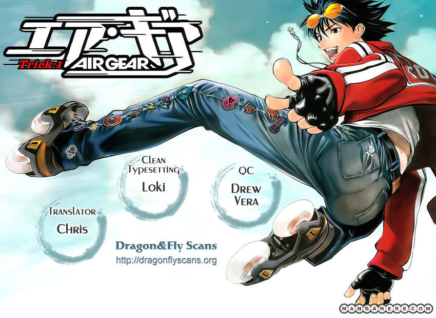 Air Gear 345 Page 1