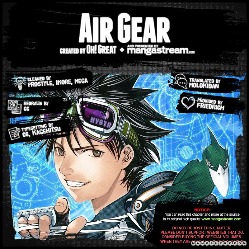 Air Gear 349 Page 2