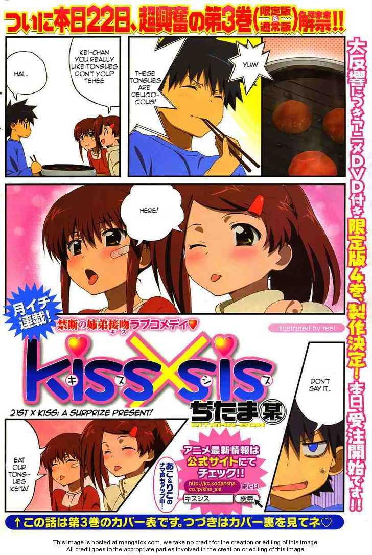 KissxSis 21 Page 1