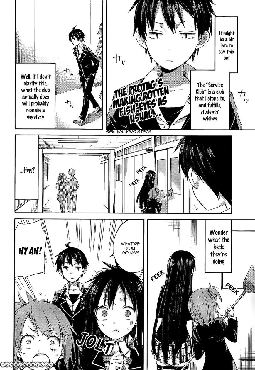 Yahari Ore no Seishun Love Come wa Machigatteiru 4 Page 3