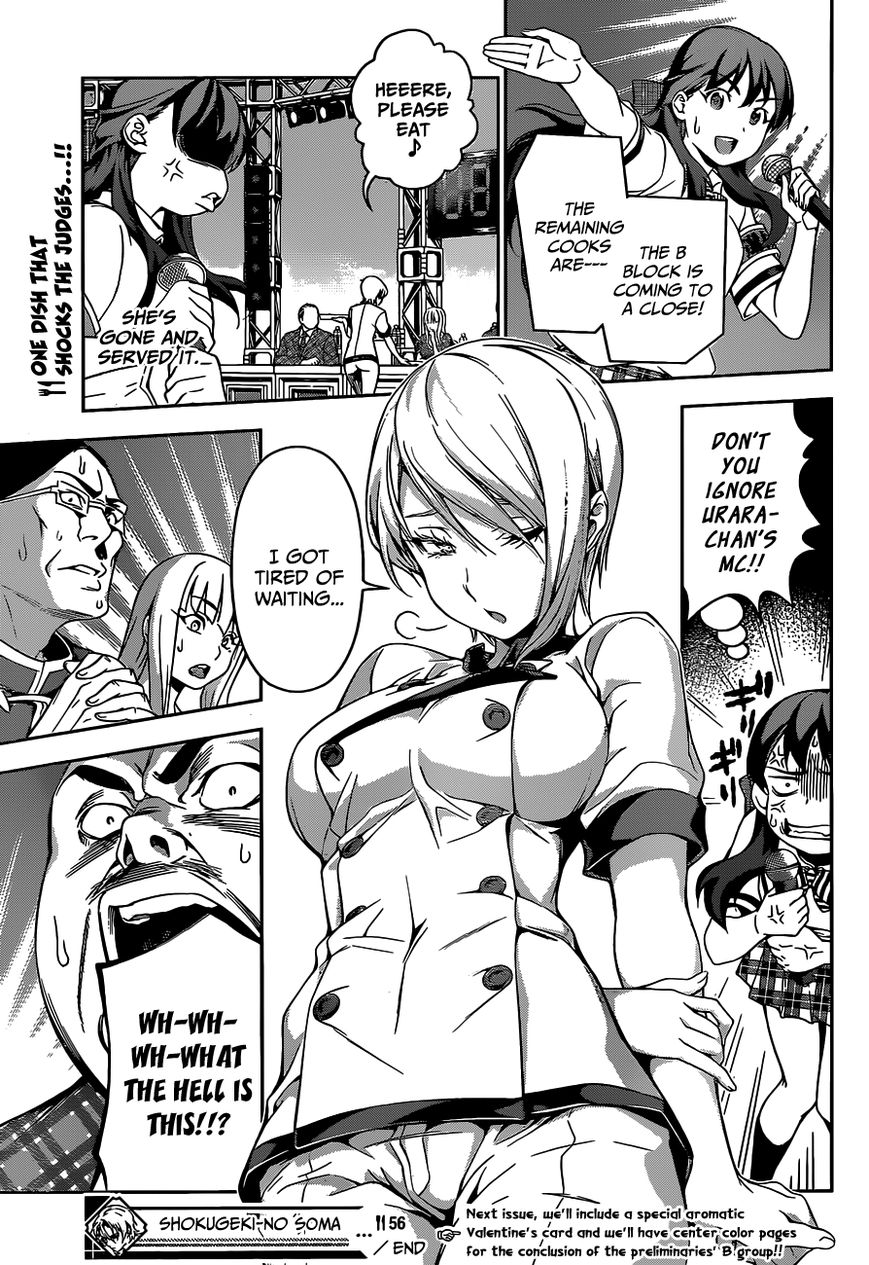 Shokugeki no Soma - Chapter 62