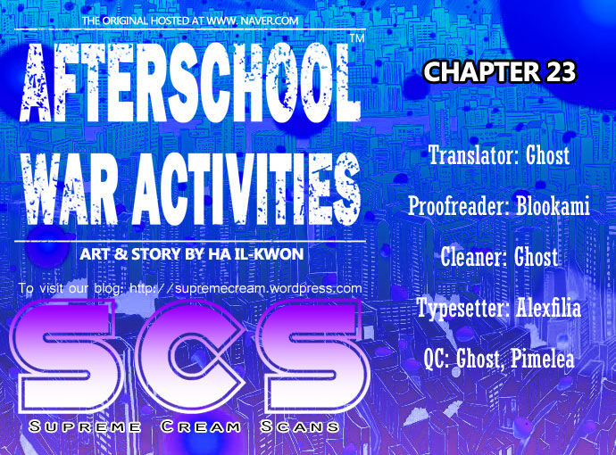 Afterschool Military Activity 23 Page 1