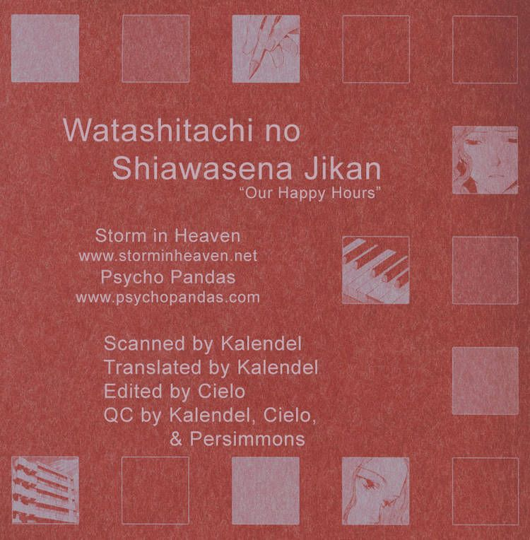 Watashitachi no Shiawase na Jikan 6 Page 1