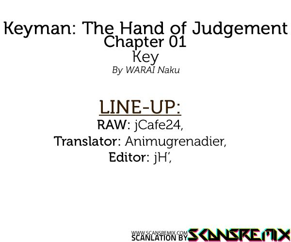 Keyman: The Hand of Judgement 1 Page 2
