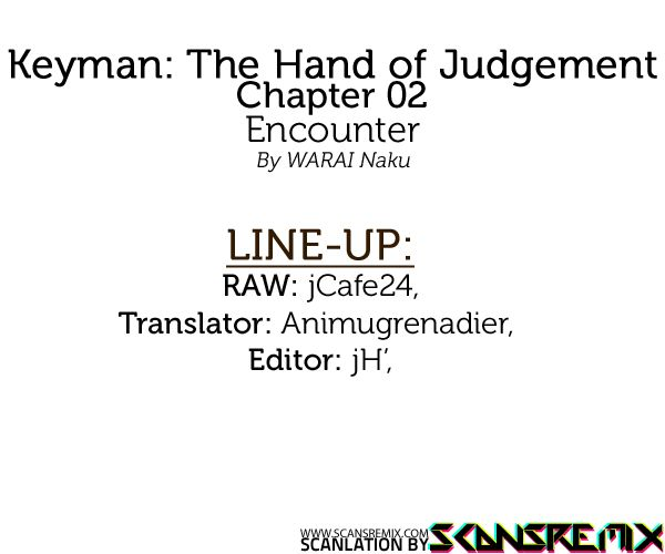 Keyman: The Hand of Judgement 2 Page 1