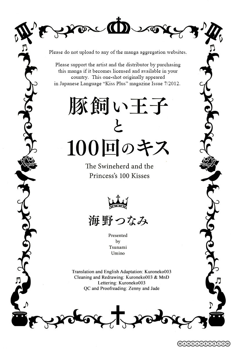 Butakai Ouji to 100 Kai no Kiss 1 Page 2