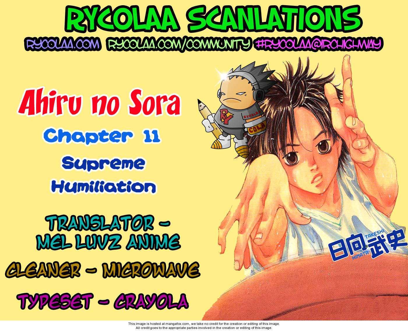 Ahiru no Sora 11 Page 1