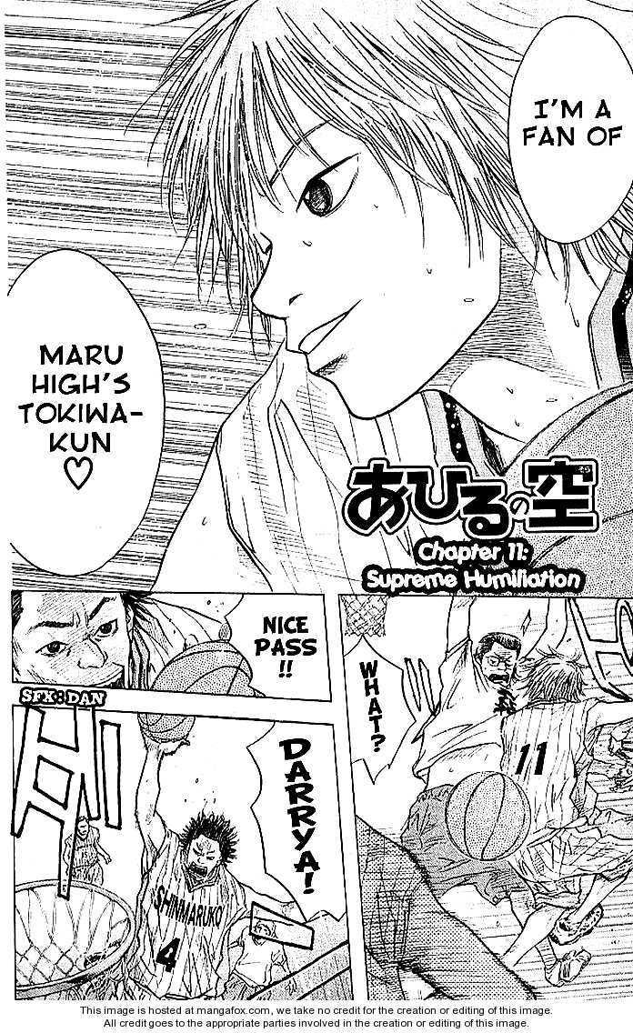 Ahiru no Sora 11 Page 3