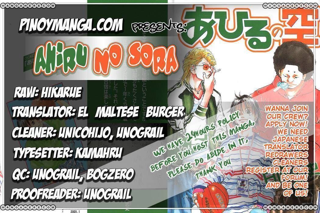 Ahiru no Sora 31 Page 1