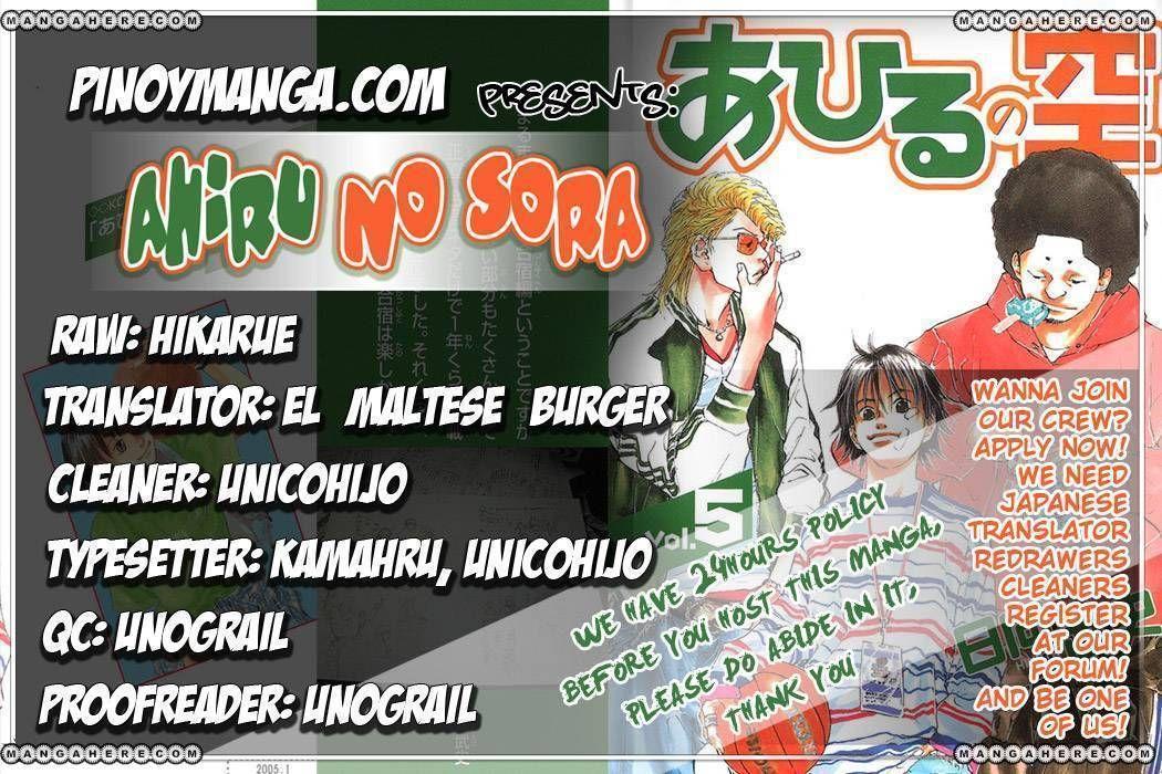 Ahiru no Sora 34 Page 1