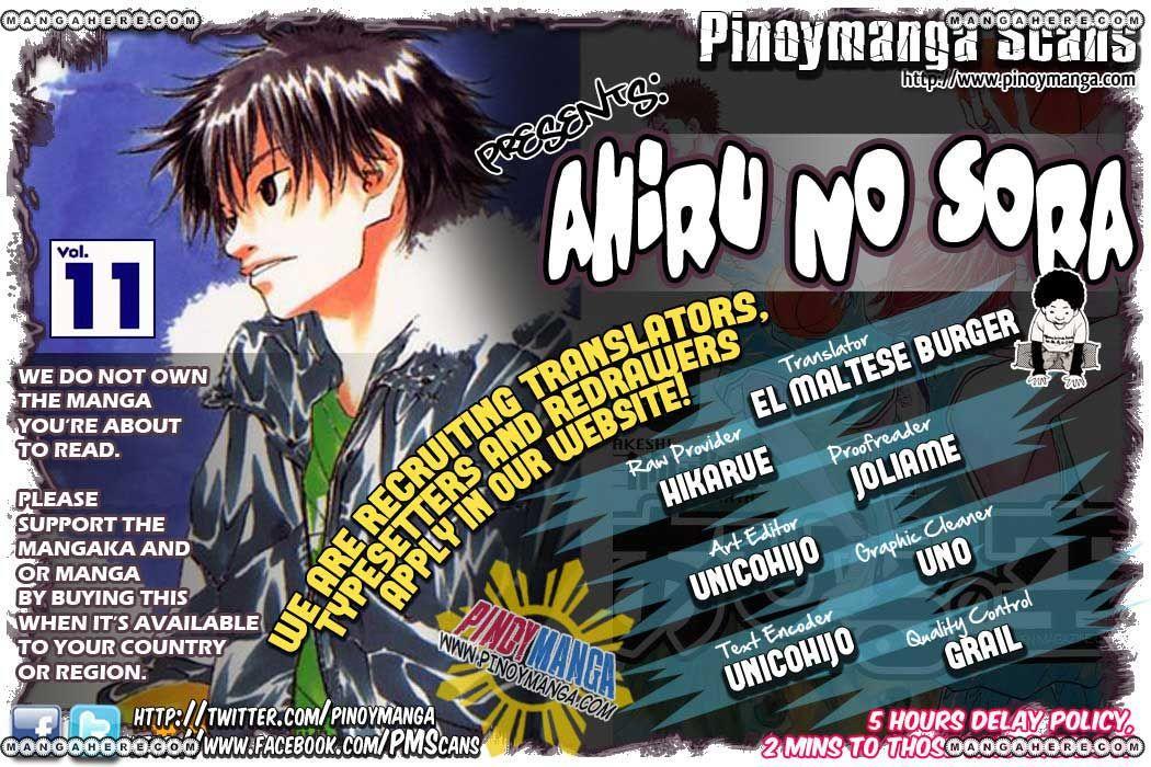 Ahiru no Sora 86 Page 1